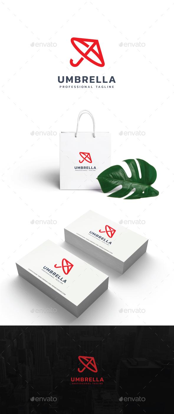 Umbrella Logo - Symbols Logo Templates