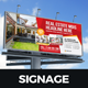 Billboard Signage Design v3 - GraphicRiver Item for Sale