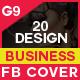 Facebook Cover - 20 Design Bundle - GraphicRiver Item for Sale