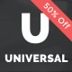 Universal - Corporate WordPress Multi-Concept Theme - ThemeForest Item for Sale