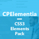 CPElementia - CSS3 Ultimate Elements - CodeCanyon Item for Sale