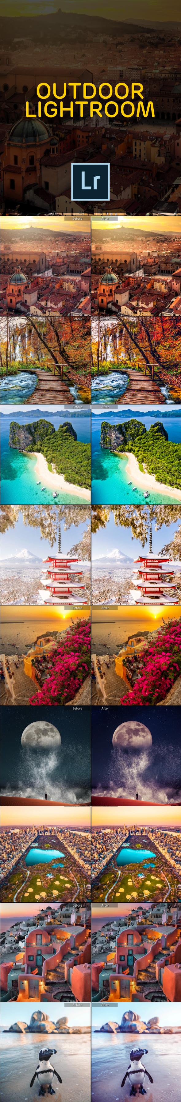 14 Landscape Lightroom Presets - Landscape Lightroom Presets