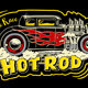 hot rod classic race - GraphicRiver Item for Sale