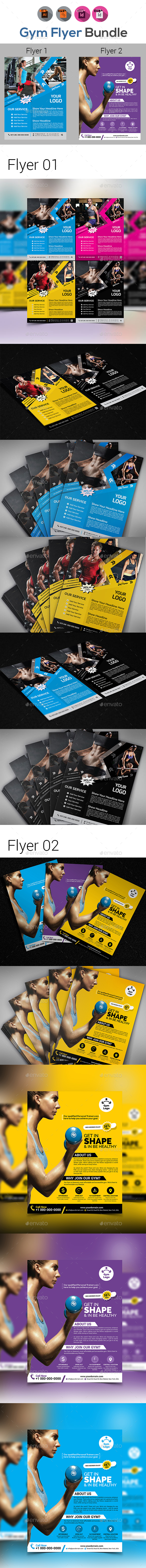 Gym Flyers Bundle - Sports Events