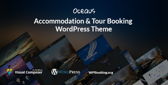 Image of Oceaus - Accommodation and Tour booking WordPress Theme