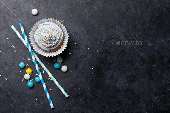 Sweet cupcake - Stock Photo - Images
