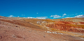 Deposit of colorful clay in the Altai Mountains or Mars valley, Kizil-Chin - PhotoDune Item for Sale