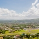 Panorama of the City of Legazpi on the Background of the Airport. Luzon, Philippines - VideoHive Item for Sale