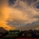 Morning in Legazpi City Near with Mayon Volcano Is an Active Stratovolcano in the Province of Albay - VideoHive Item for Sale