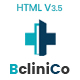 Bclinico - Health & Medical  HTML Template - ThemeForest Item for Sale