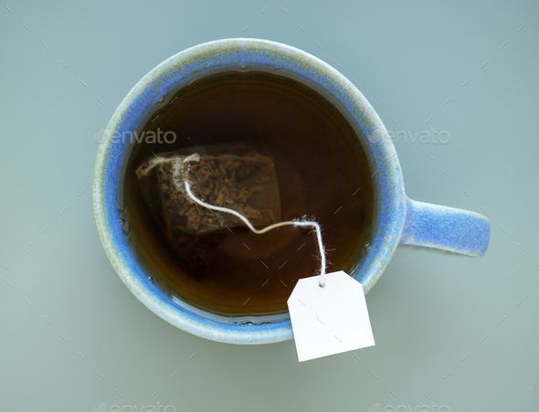 Tea in a mug - Stock Photo - Images