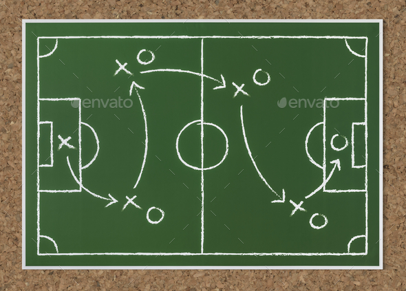 Basket ball strategy sketch icon - Stock Photo - Images