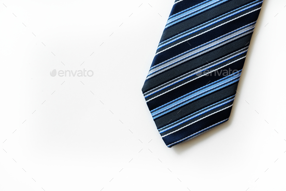Closeup of necktie - Stock Photo - Images