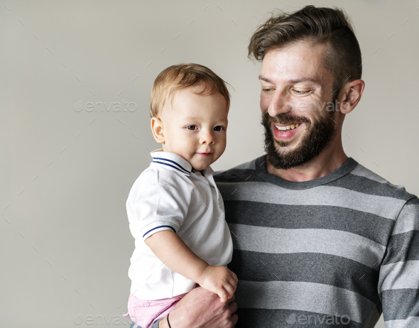 Father and son - Stock Photo - Images