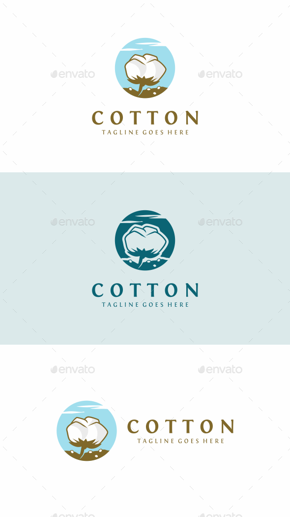 Cotton - Nature Logo Templates