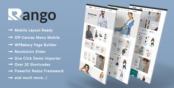 Rango - Multipurpose Responsive WooCommerce WordPress Theme