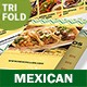 Mexican Restaurant Trifold Menu 2