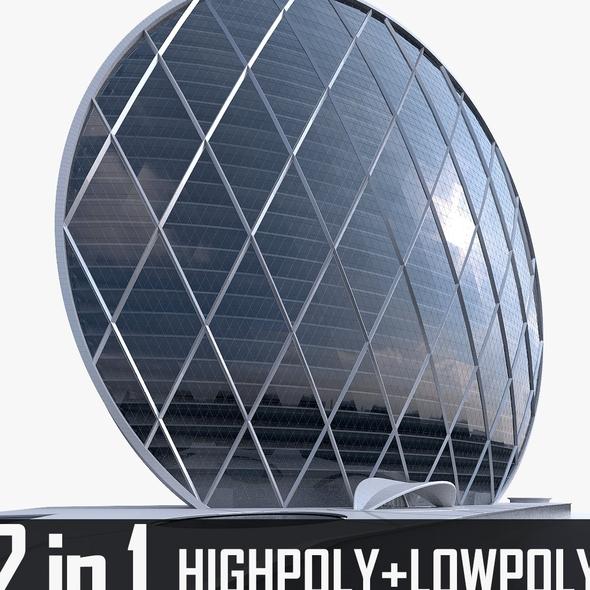 Aldar Headquarters Building - 3DOcean Item for Sale