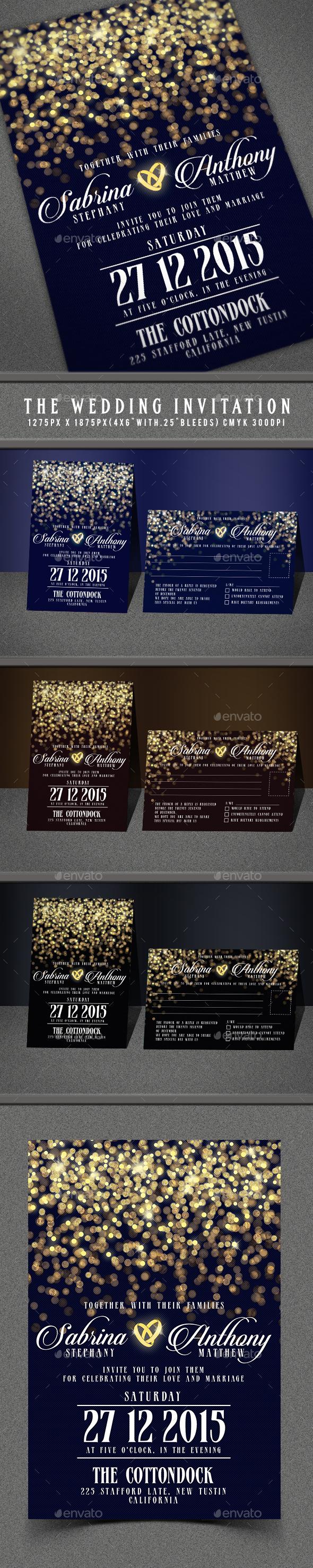 The Wedding Invitation - Invitations Cards & Invites