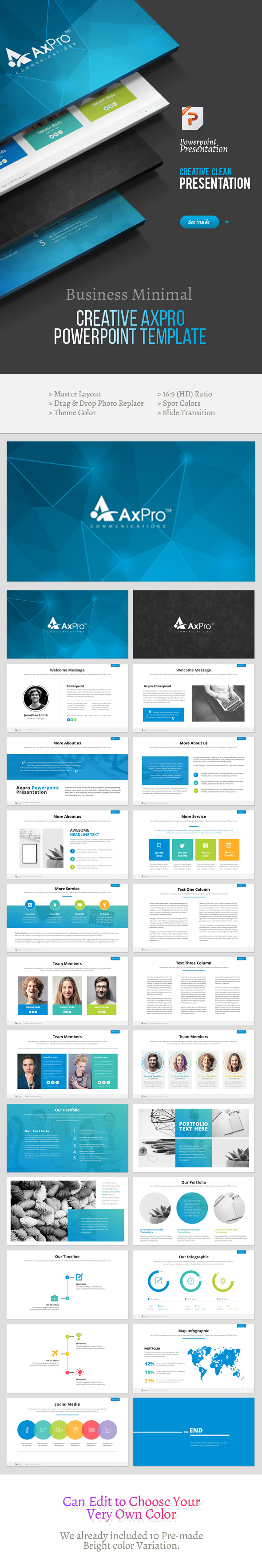 Creative Axpro Powerpoint Template 2 - Creative PowerPoint Templates