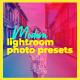 21 Modern Photography Lightroom Presets