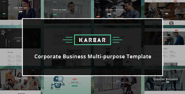 Karbar - Multipurpose HTML Template