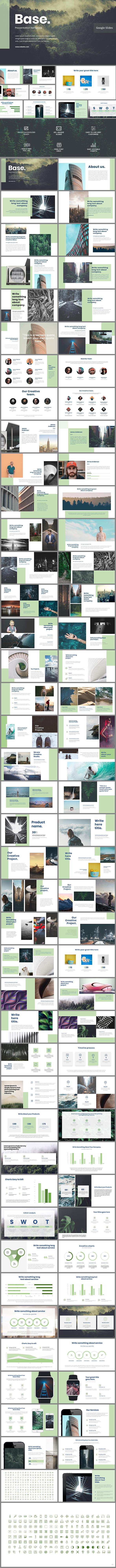 Base Google Slides - Google Slides Presentation Templates