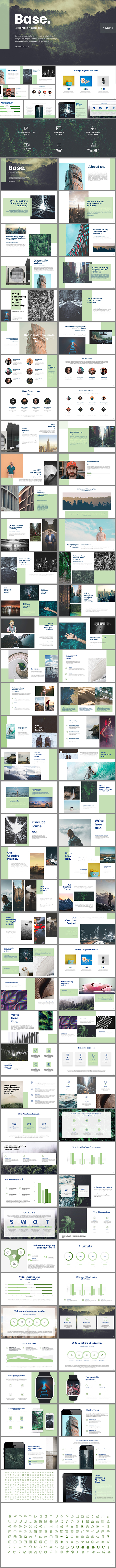 Base Keynote Template - Keynote Templates Presentation Templates
