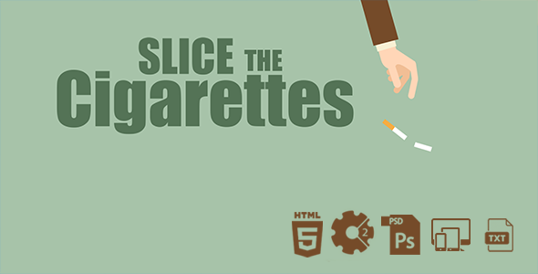 Slice The Cigarettes HTML5 Game - CodeCanyon Item for Sale