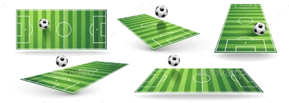 Soccer Fields - Sports/Activity Conceptual