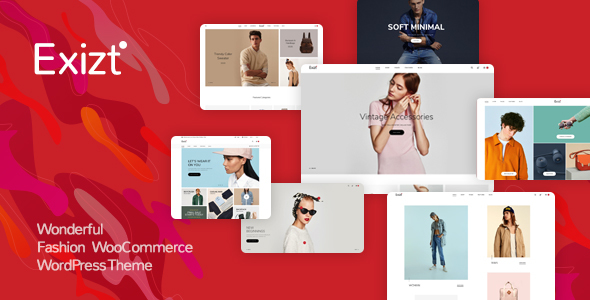 Image of Exizt  - Fashion WooCommerce WordPress Theme