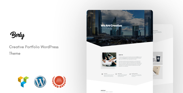 Image of Berly - Portfolio WordPress Theme