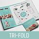 Cake Shop Tri-Fold Brochure Template