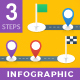 Milestone Infographics - 3 Steps - GraphicRiver Item for Sale