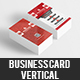 Business Card Vertical - GraphicRiver Item for Sale