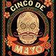 Cinco de Mayo Retro Vintage Flyer - GraphicRiver Item for Sale
