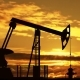 Oil Pump Jack Against Sunset - VideoHive Item for Sale