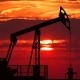 Oil Pump Jack Against Red Sunset - VideoHive Item for Sale