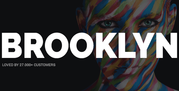 Brooklyn | Creative, Bold, Modern Multipurpose WP Theme - Creative WordPress