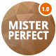Mister Perfect - Minimal CV/Resume/vCard Template - ThemeForest Item for Sale