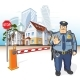 Police Patrol Barrier