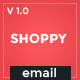 Shoppy 3 Ecommerce Email Template + Stampready Builder + Mailchimp + Mailste - ThemeForest Item for Sale