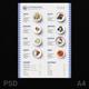 Menu Design Wave Pattern - GraphicRiver Item for Sale