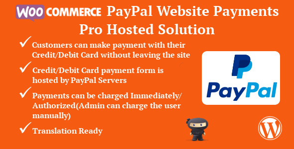 WooCommerce PayPal Website Payments Pro Hosted Solution Free Download | Nulled