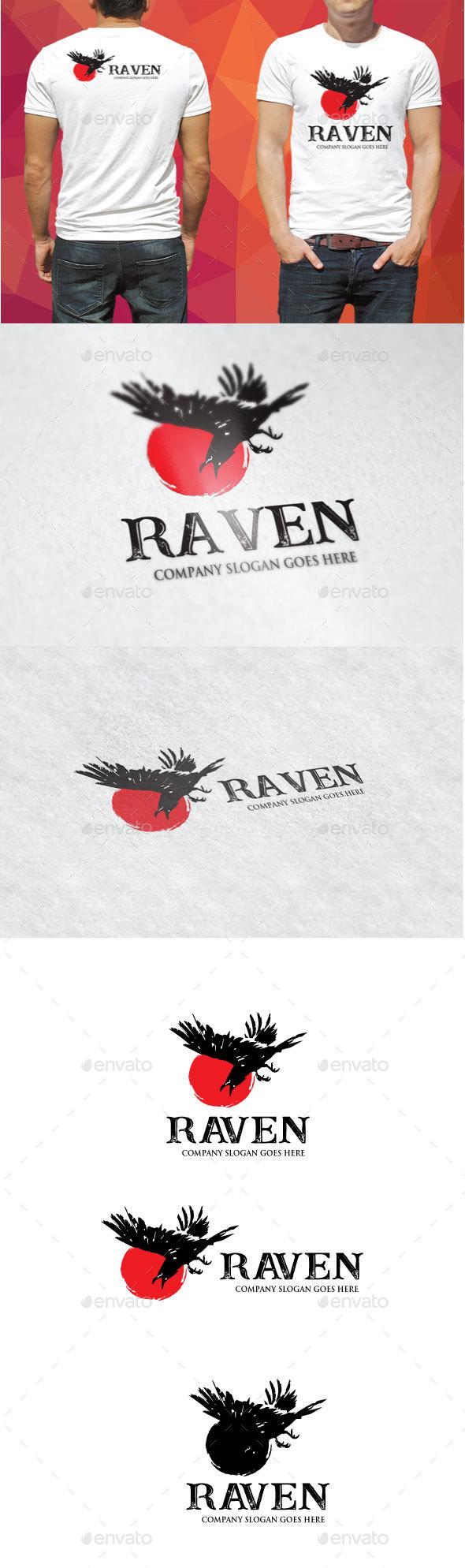 Raven Logo - Animals Logo Templates