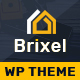 Brixel Construction Building WordPress Theme - ThemeForest Item for Sale