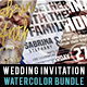 Wedding Invitation Bundle - GraphicRiver Item for Sale