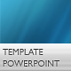 Blue Water Powerpoint Template - GraphicRiver Item for Sale