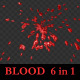 Blood Splash - Cartoon Style - VideoHive Item for Sale