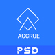 Accrue - Investment Website PSD Templates